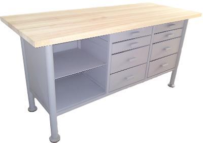pracovní, dílenský stůl, ponk, model MEDIUM