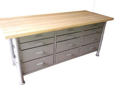 pracovní, dílenský stůl, ponk, model FULL
