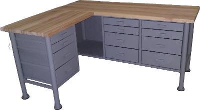 pracovní, dílenský stůl, ponk, model L