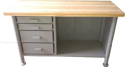 pracovní, dílenský stůl, ponk, model TS LITE