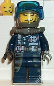 LEGO figurka Alpha Team