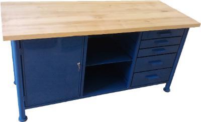 pracovní, dílenský stůl, ponk, model SAFE BIG