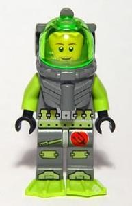 LEGO Atlantis figurka Lance Spears 2