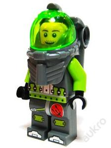 LEGO Atlantis figurka Lance Spears