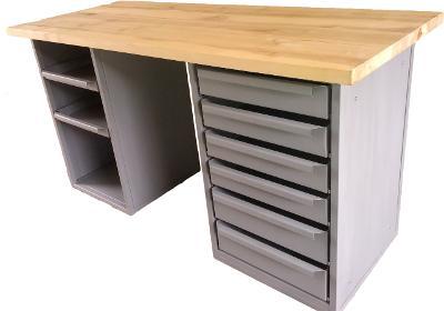 pracovní, dílenský stůl, ponk, model JM8