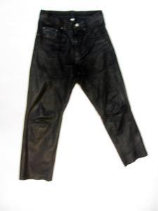 Kožené kalhoty AKITO vel. 31 - pas: 78 cm
