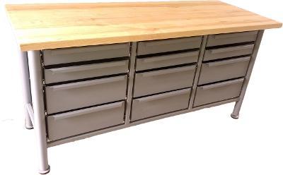 pracovní, dílenský stůl, ponk, model FULL MAXX 12