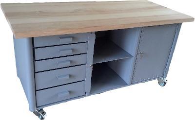 pracovní, dílenský stůl, ponk, model SAFE II