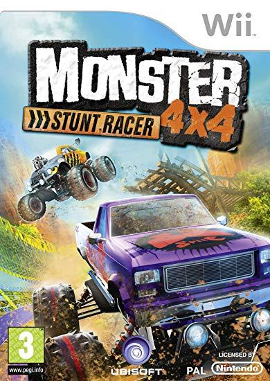 Wii - Monster 4x4 Stuntrace
