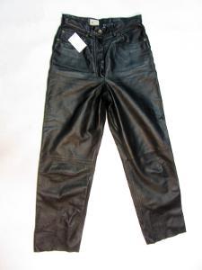 Kožené dámské kalhoty CANDA - obvod pasu:70cm