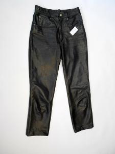 Kožené kalhoty RABERG vel.28  pas: 70 cm