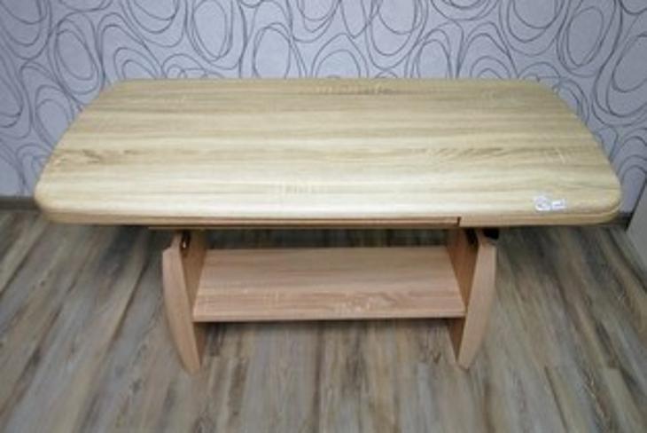 Konferenční stolek, rozkl, nastav. výška (14984A) - Nábytek