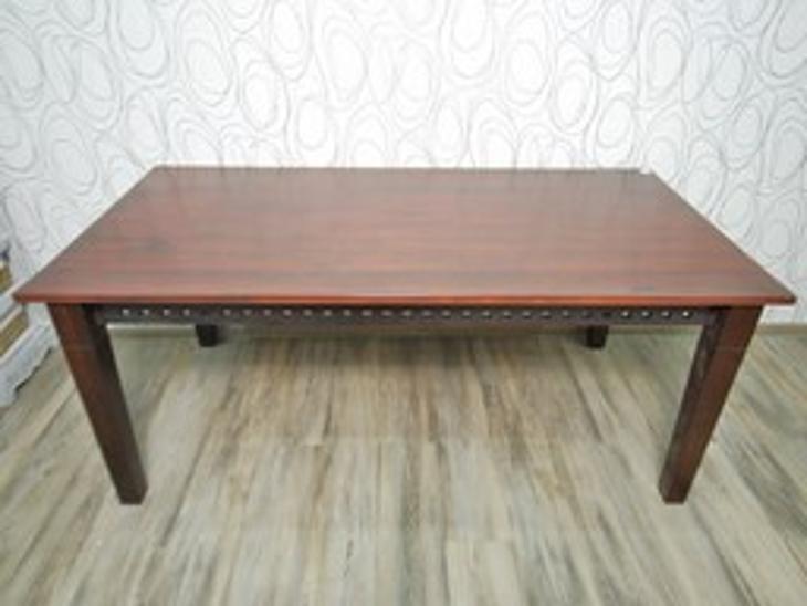 Jídelní stůl, dřevo masiv (15068B) E - Nábytek