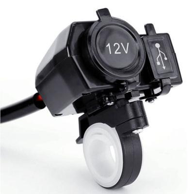 USB zásuvka na moto, nabíječka tel. nebo navigace