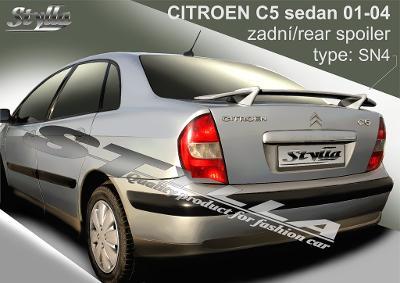 spoiler křídlo pro Citroen C5 lfb 03/2001--