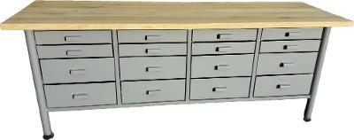 pracovní, dílenský stůl, ponk, model FULL QUATTRO