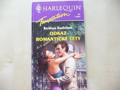 HARLEQUIN - Temptation č.63 - Odkaz romantické tet