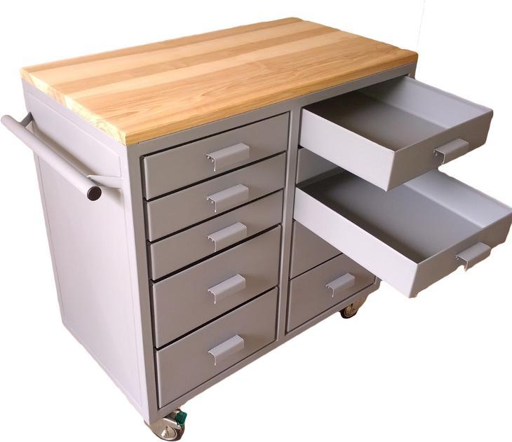 pracovní, dílenský stůl, ponk, model FLEXI DOUBLE - Ostatní