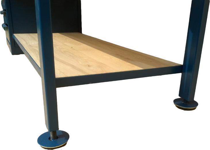 pracovní, dílenský stůl, ponk, model SHELF - Ostatní