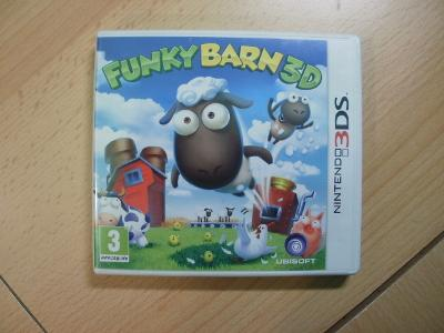 Hra na Nintendo 3DS + 2DS - Funky Barn 3D