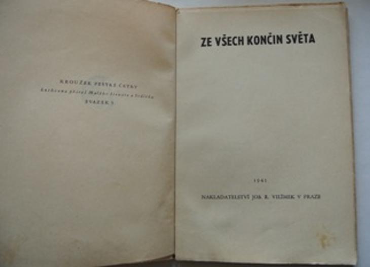 Ze všech končin světa sv. 5 - Vilímek 1941 - Ostatní