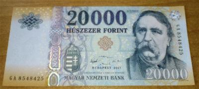 MADARSKO 20000 Forint 2017 P-207c UNC