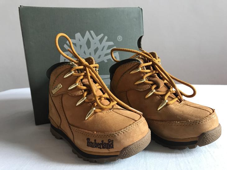 TIMBERLAND dětské kožené kotníčkové zimní boty (6913090005) 4941d50cc3
