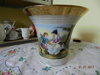 Ručně malovaný porcelánový Květináč Květník