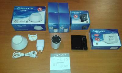 Prodám prvky k regulaci SALUS iT600