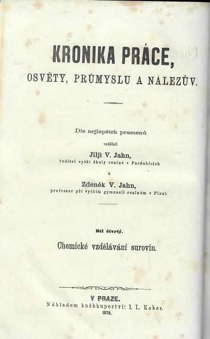 Kronika práce, osvěty, průmyslu a nálezův IV. - Antikvariát