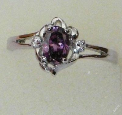Prsten s kamínkem 3 průměr 17.2mm