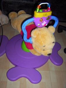 Hopsadlo - skákadlo medvídek Pú