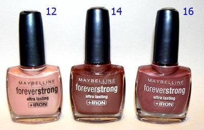 Maybelline Forever Strong odstín 16  POSLEDNÍ KUS !