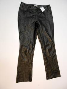 Kožené kalhoty dámské vel. 42 - obvod pasu: 88 c