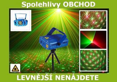 EL28 LASEROVY PROJEKTOR DISCO SVĚTLO LASER 3D