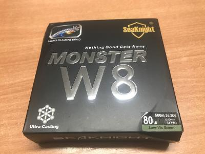 Pletená šňůra Monster  W8 80lb 500m