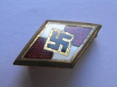 Zlatý čestný odznak HJ s číslem M1/120