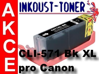 cartridge CLI-571 BK XL černá foto pro Canon