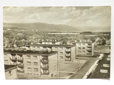 Chomutov - Mostecká ulice - nové sídliště