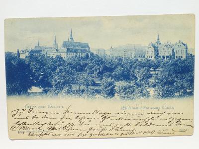 Brno - Gruss aus Brünn 1901