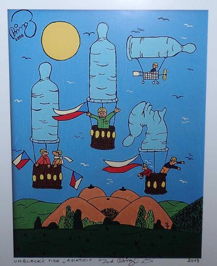 AVIATICI - FRANTIŠEK RINGO ČECH - Umění