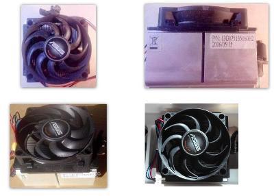 Značkový chladič od ASUSU pro CPU AMD Socket AM FM1 F(1207) 939 754