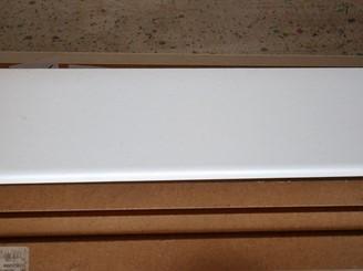 Lišta koncová, dekor bílá 260 cm (15375)
