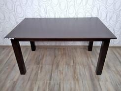 Jídelní stůl, dřevolaminát/ dřevo (15377B) E S
