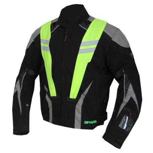 Pánská textilní moto bunda Spark Genesis - S - Náhradní díly a příslušenství pro motocykly