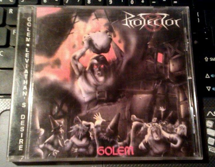 PROTECTOR - Golem & Leviathan's Desire - RARE - Hudba