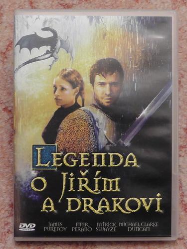 DVD-Legenda o Jiřím a drakovi
