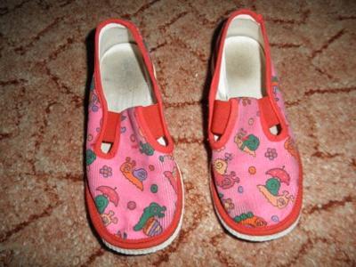 Bačkory, papuče vel. 19, délka stélky 17,5 cm