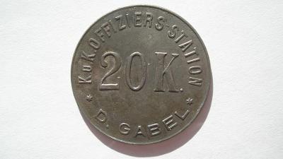 Lager - Jablonné v Podještědí 20 koruna - Numismatika