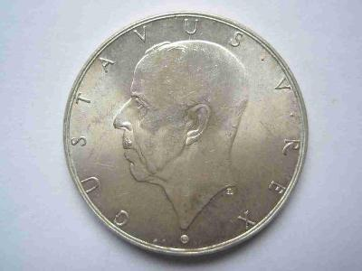 Švédsko 2 koruna 1938 pamětní